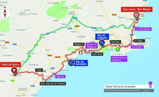 La Vuelta Ciclista a España recorrerá el jueves 43 kilómetros del municipio de Cartagena - 1, Foto 1