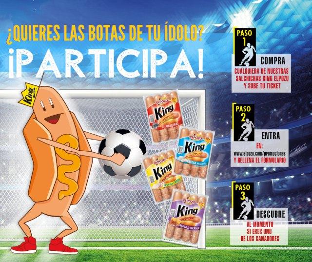ELPOZO ALIMENTACIÓN sortea cinco pares de botas de fútbol de la mano del Álbum Oficial de La Liga, Foto 1
