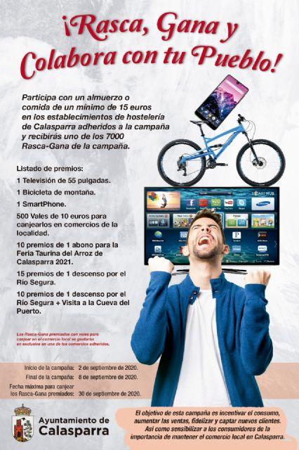 El Ayuntamiento de Calasparra lanza la campaña rasca, gana y colabora con tu pueblo - 1, Foto 1