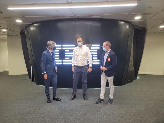 La Comunidad estudia proyectos de colaboración con IBM para aplicar la inteligencia artificial y la automatización de procesos a la administración - 1, Foto 1