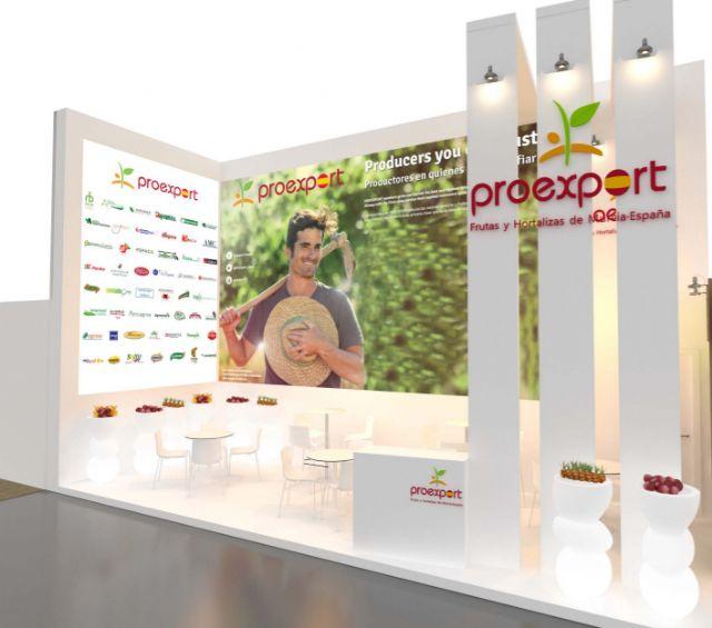 36 empresas asociadas a PROEXPORT llevarán a Fruit Attraction la más amplia oferta hortofrutícola del Sureste español