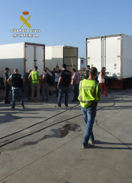 The Civil Guard detains the managers of a company for irregularities in the hiring of foreign workers, Foto 2