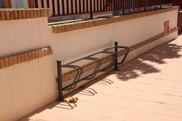 Alhama contará con nuevos aparcabicis y aparcamotos, Foto 1