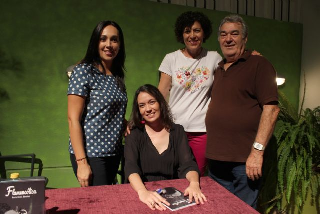 Rocío Hellín presenta en Puerto Lumbreras 'Flamencólica', su primer trabajo en papel - 1, Foto 1