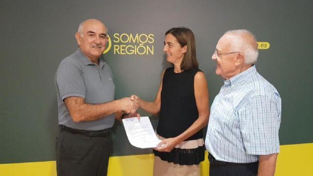 Alberto Garre presenta su candidatura a la presidencia del partido regional Somos Región - 1, Foto 1