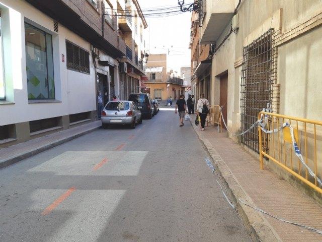 Mañana comienzan las obras de renovación de un tramo de la red de alcantarillado en la calle José Antonio Requena por una rotura en la tubería que provoca filtraciones - 1, Foto 1