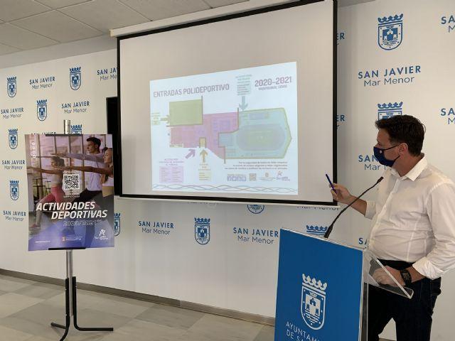 El polideportivo municipal de San Javier retoma las actividades dirigidas - 1, Foto 1