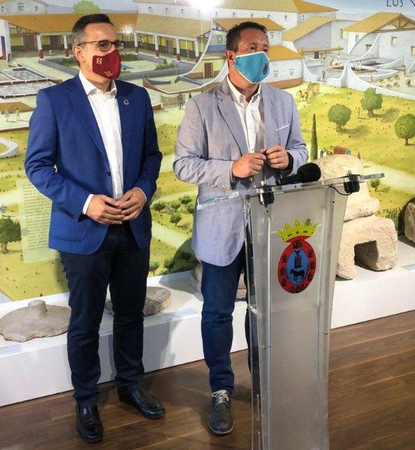 El diputado y secretario del PSRM-PSOE valora el trabajo de promoción turística realizado en Mula - 1, Foto 1