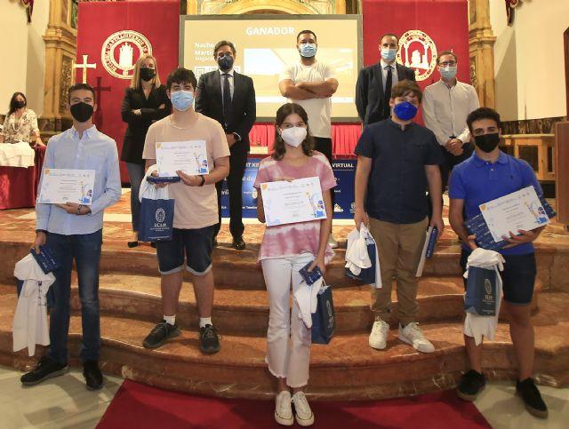 La UCAM premia a diez jóvenes por sus proyectos de realidad aumentada y virtual - 1, Foto 1