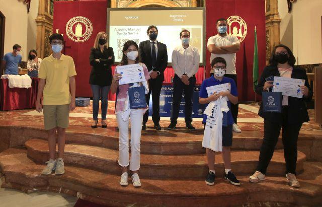 La UCAM premia a diez jóvenes por sus proyectos de realidad aumentada y virtual - 2, Foto 2