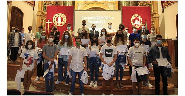 La UCAM premia a diez jóvenes por sus proyectos de realidad aumentada y virtual - 3, Foto 3