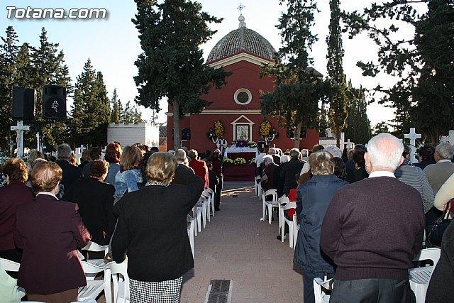 La tradicional Misa de Ánimas en el Cementerio Municipal Nuestra Señora del Carmen se celebrará hoy 2 de noviembre, Foto 1