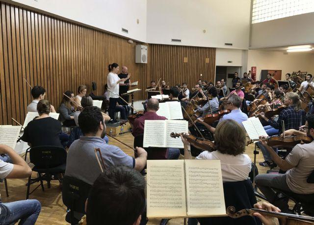 La Sinfónica de la Región y 140 coralistas clausuran la Semana Grande de la Fundación CajaMurcia con 'la Novena' de Beethoven - 1, Foto 1