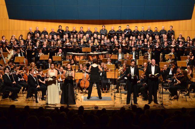La Sinfónica de la Región y 140 coralistas clausuran la Semana Grande de la Fundación CajaMurcia con 'la Novena' de Beethoven - 2, Foto 2