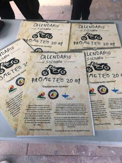 PROMETEO presenta su calendario solidario 2019 Descubriendo caminos - 3, Foto 3