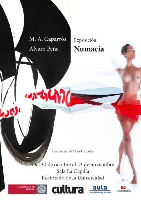 La Universidad de Murcia acoge una exposición de Miguel Ángel Caparrós y Álvaro Peña - 1, Foto 1