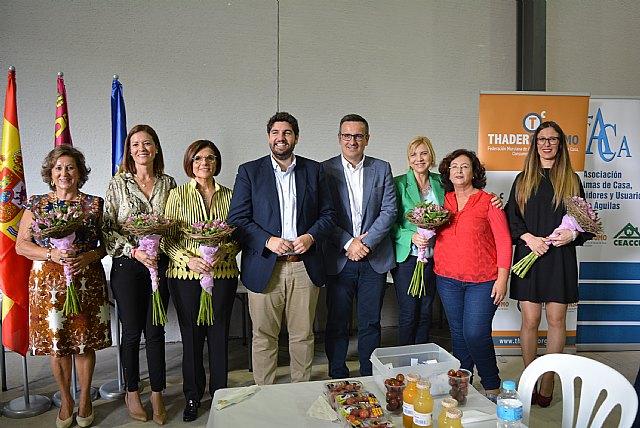 Totana estuvo presente en el Encuentro Regional de Amas de Casa, que se celebró en Águilas - 2, Foto 2