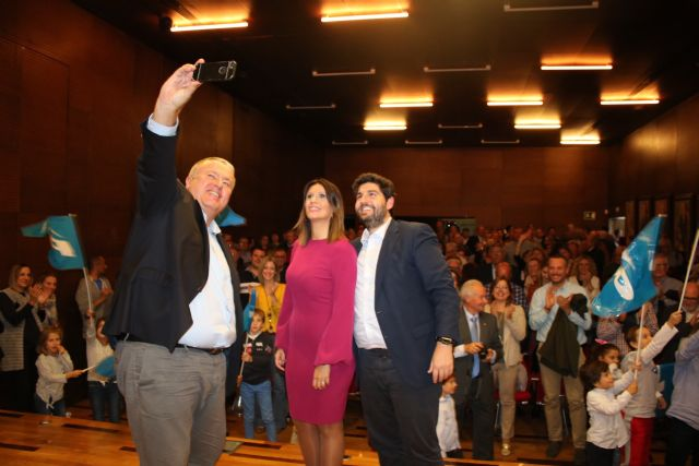 López Miras: Sofía Manrubia es la candidata que necesita La Unión para liderar el proyecto en 2019 - 1, Foto 1