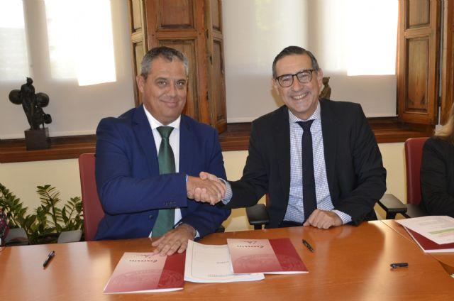 La Universidad de Murcia y el Ayuntamiento de Pliego regulan el funcionamiento de la sede permanente en el municipio - 1, Foto 1