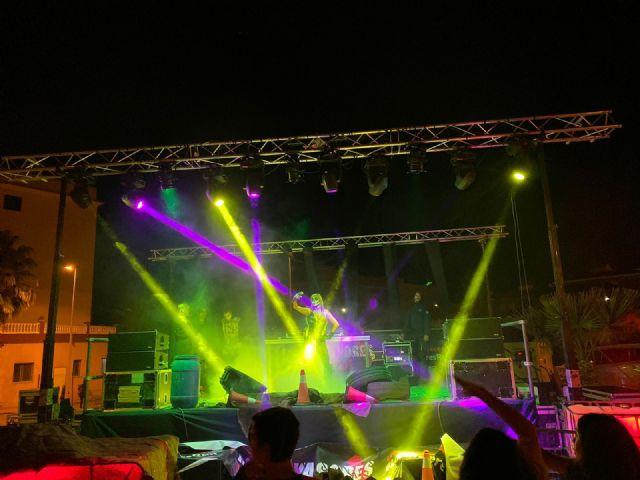500 invasores tomaron las calles de Mazarrón en una noche terrorificamente divertida, Foto 2