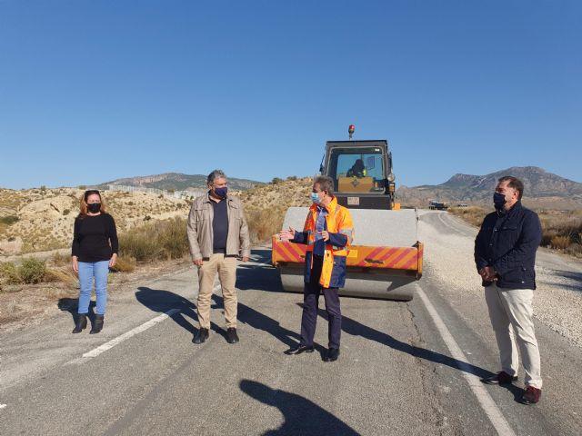 La Comunidad mejora la confortabilidad de la carretera que une la pedanía molinense de La Hurona con la Estación de Blanca - 1, Foto 1
