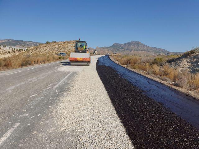 La Comunidad mejora la confortabilidad de la carretera que une la pedanía molinense de La Hurona con la Estación de Blanca - 2, Foto 2