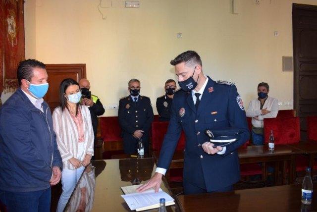 Ampliada la plantilla de Policía Local de Mula con la toma de posesión de Salvador Martínez como nuevo Inspector - 1, Foto 1