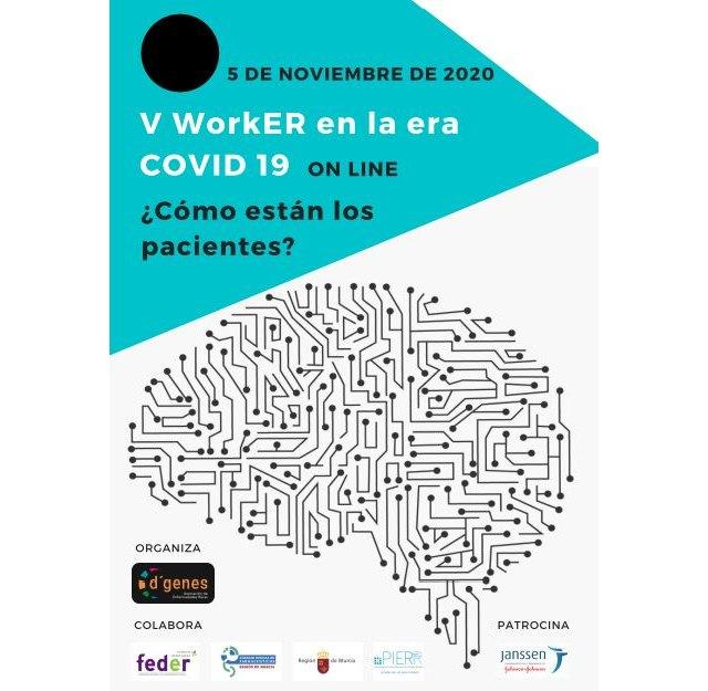 D´Genes organiza el próximo 5 de noviembre el V WorkER en la era COVID