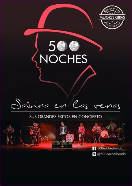 "They offer a second session of the show ""Sabina in the veins"" before the great demand of requests for the concert"