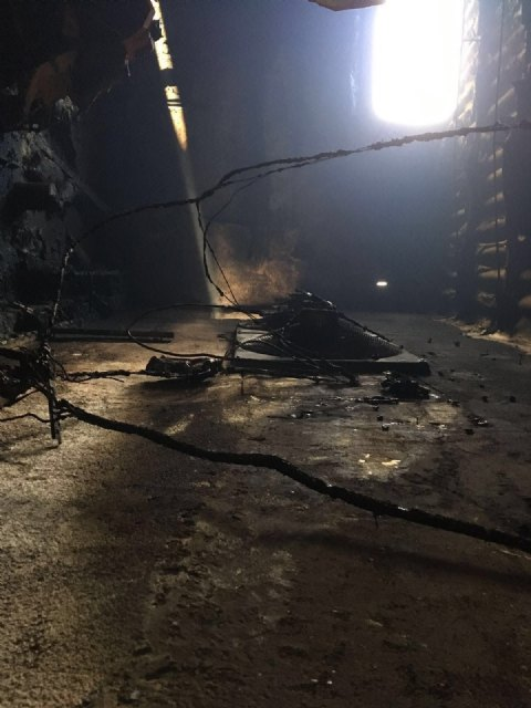 700 piglets die in the fire of a stallion in Totana, Foto 3