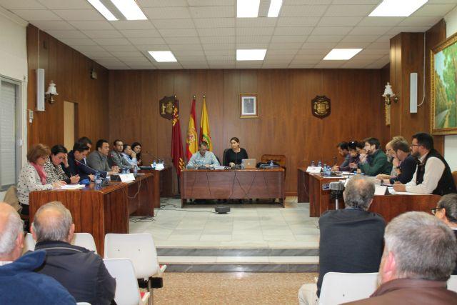 El pleno de Archena aprueba por unanimidad la propuesta de los regantes del Heredamiento de Acequia de Molina - 1, Foto 1