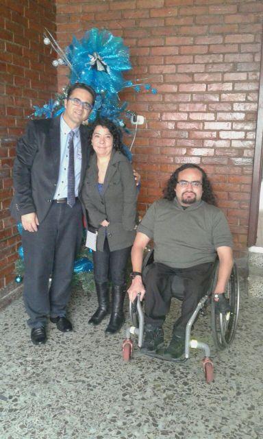 El presidente de FEDER y ALIBER, el totanero Juan Carrión, interviene en el II Foro Internacional de Enfermedades Huérfanas en Bogotá
