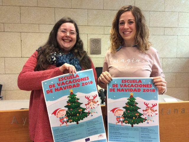 La Escuela de Navidad, servicio de conciliación de la vida laboral y familiar en las próximas vacaciones escolares, se celebrará del 24 de diciembre al 4 de enero a cargo de