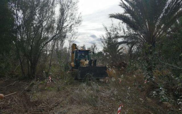 La CHS continúa con las obras de emergencia tras la DANA en los municipios de Lorquí, Archena y Ulea - 1, Foto 1