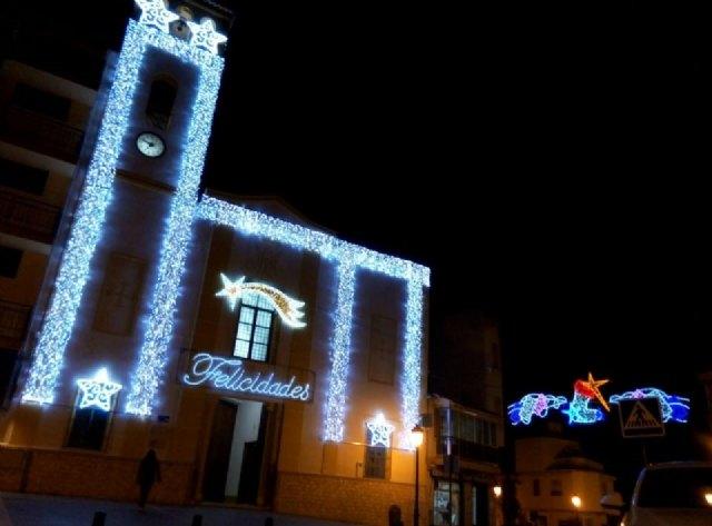 Puerto Lumbreras amplía el número de zonas con iluminación de Navidad - 1, Foto 1
