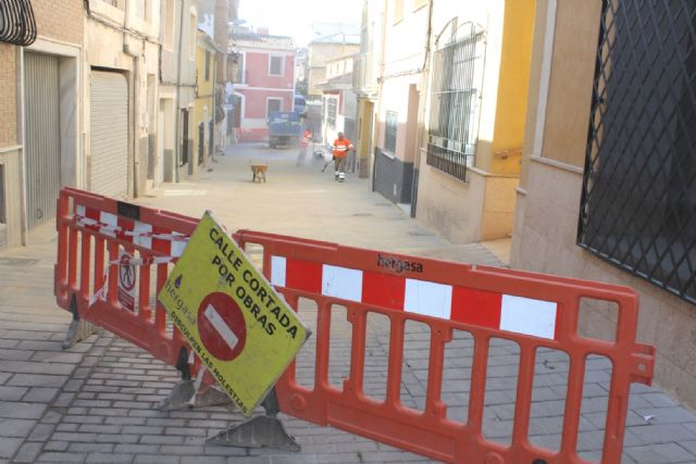 Completion of the renovation works of the San Ramón street and sanitation network section, Foto 1