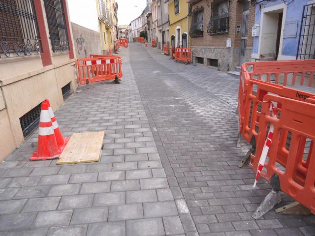 Completion of the renovation works of the San Ramón street and sanitation network section, Foto 2