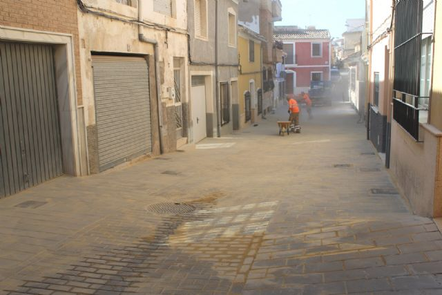 Completion of the renovation works of the San Ramón street and sanitation network section, Foto 4
