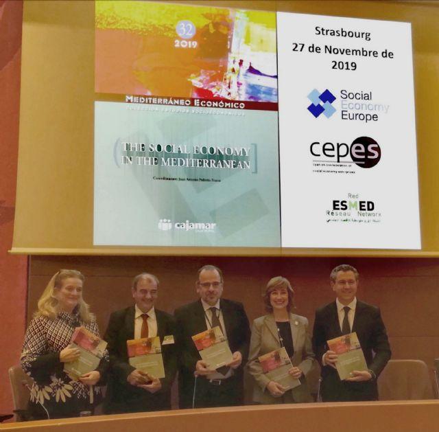Cajamar participa en Estrasburgo en el Día Europeo de las Empresas de Economía Social - 1, Foto 1