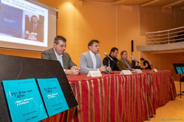Cultura acerca la figura y las obras de Miguel Hernández y su vinculación con Cartagena a los institutos - 1, Foto 1