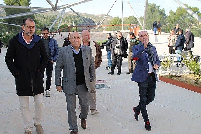 El alcalde visita el Centro de Interpretación del Cañón de Almadenes - 1, Foto 1