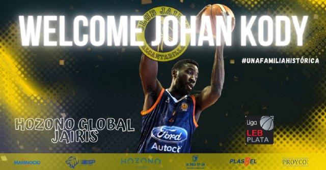 Johan Kody, nuevo refuerzo para el juego interior del Hozono Global Jairis - 1, Foto 1