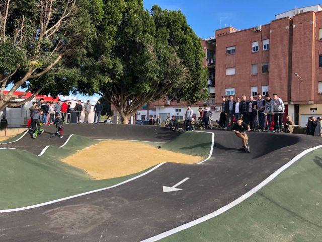 Abre sus puertas en Alcantarilla la primera instalación Pumptrack a nivel regional - 3, Foto 3