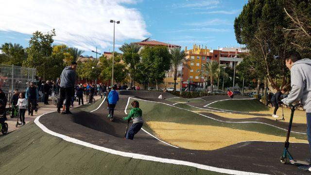 Abre sus puertas en Alcantarilla la primera instalación Pumptrack a nivel regional - 4, Foto 4