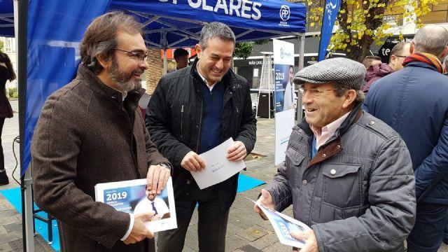La campaña explicativa de los Presupuestos Regionales para el próximo año llega esta mañana a Alcantarilla - 1, Foto 1