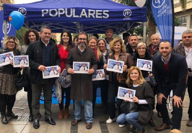 La campaña explicativa de los Presupuestos Regionales para el próximo año llega esta mañana a Alcantarilla - 2, Foto 2