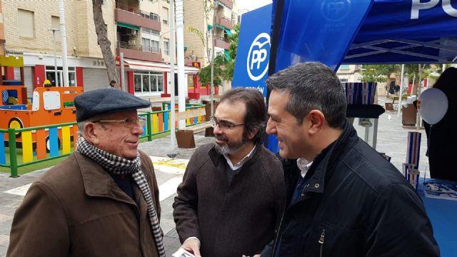 La campaña explicativa de los Presupuestos Regionales para el próximo año llega esta mañana a Alcantarilla - 4, Foto 4
