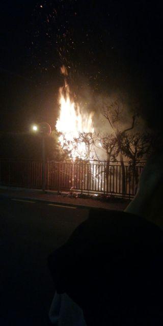 CCOO Enseñanza denuncia la desidia de las autoridades por su inacción ante los continuos incendios provocados en los alrededores del CEIP Antonio Delgado Dorrego - 3, Foto 3