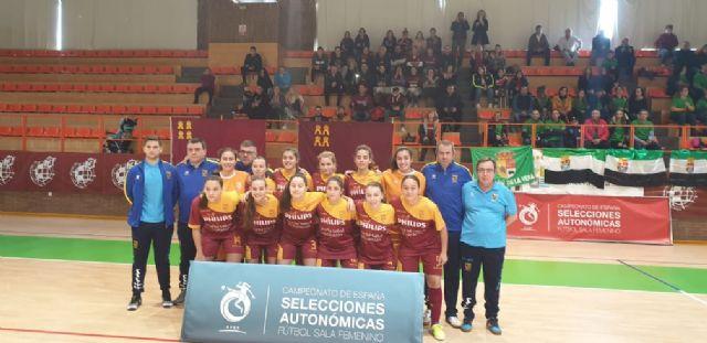 Las selecciones Sub-19 y Sub-16, a la fase final del Nacional de fútbol sala femenino - 1, Foto 1