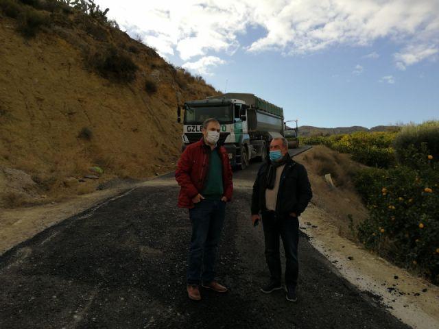 La Comunidad repara caminos rurales de Abanilla, Campos del Río, Ricote y Ojós afectados por la dana de 2019 - 1, Foto 1